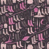 Spooky 'n Sweeter Witch's Wardrobe Sweet Hallowe'en Art Gallery Fabrics Cotton Fabric SNS-13026