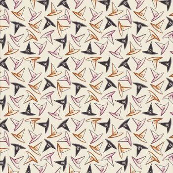 Spooky 'n Sweeter Hocus Pocus Hats Hallowe'en Art Gallery Fabrics Cotton Fabric SNS-13019