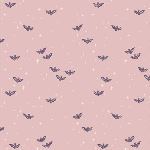 Spooky 'n Sweeter Winging It Bright Bats Hallowe'en Art Gallery Fabrics Cot