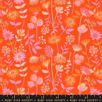 Stay Gold Meadow Florida Floral Daisy Flower Ruby Star Society Melody Miller Cotton Fabric RS0021 11