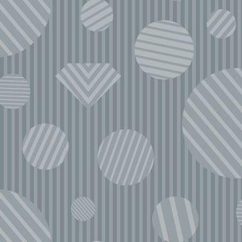The Watcher Heartbreaker Ash Libs Elliott Geometric Stripes Spots Cotton Fabric 9836 C1