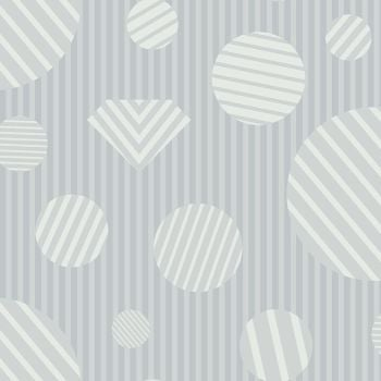 The Watcher Heartbreaker Smoke Libs Elliott Geometric Stripes Spots Cotton Fabric 9836 L