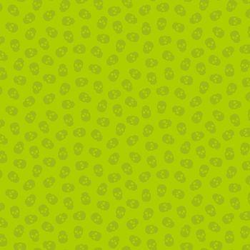 The Watcher Tainted Love Kiwi Libs Elliott Skulls Cotton Fabric 9837 G1