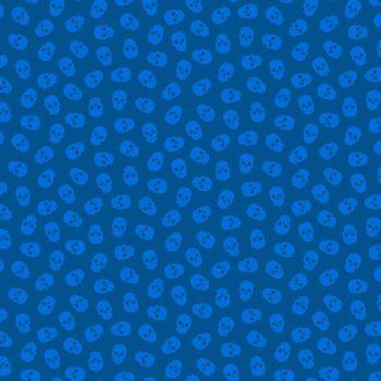 The Watcher Tainted Love Blackberry Libs Elliott Skulls Cotton Fabric 9837 B1
