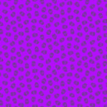The Watcher Tainted Love Grape Libs Elliott Skulls Cotton Fabric 9837 P1