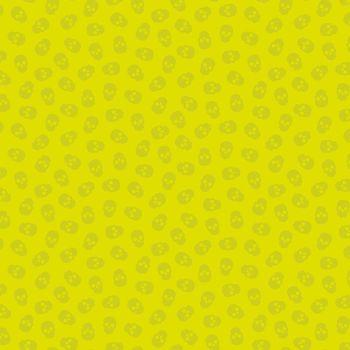 The Watcher Tainted Love Citrus Libs Elliott Skulls Cotton Fabric 9837 V