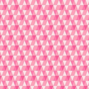 Figo Peppermint Holiday Geometric Triangles in Bright Pink Festive Christmas Holiday Cotton Fabric 90378-21