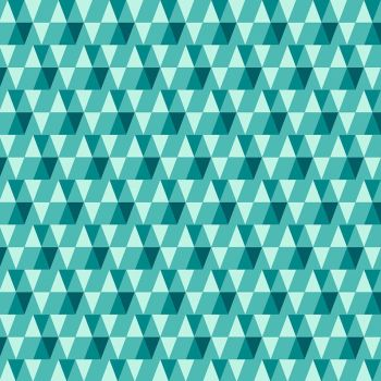 Figo Peppermint Holiday Geometric Triangles in Bright Teal Festive Christmas Holiday Cotton Fabric 90378-75