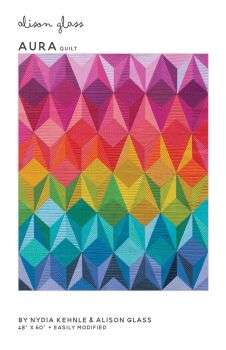 Aura Quilt Pattern by Alison Glass & Nydia Kehnle