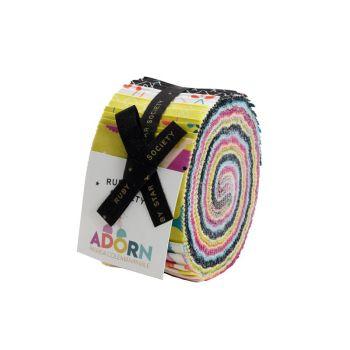 Ruby Star Society Adorn Rashida Coleman-Hale Jelly Roll Quilting Strips Cotton Fabrics