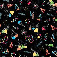 Stem Squad Science Lab Chemistry Laboratory Microscope Experiments Cotton Fabric