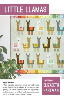 Elizabeth Hartman Little Llamas Quilt Pattern