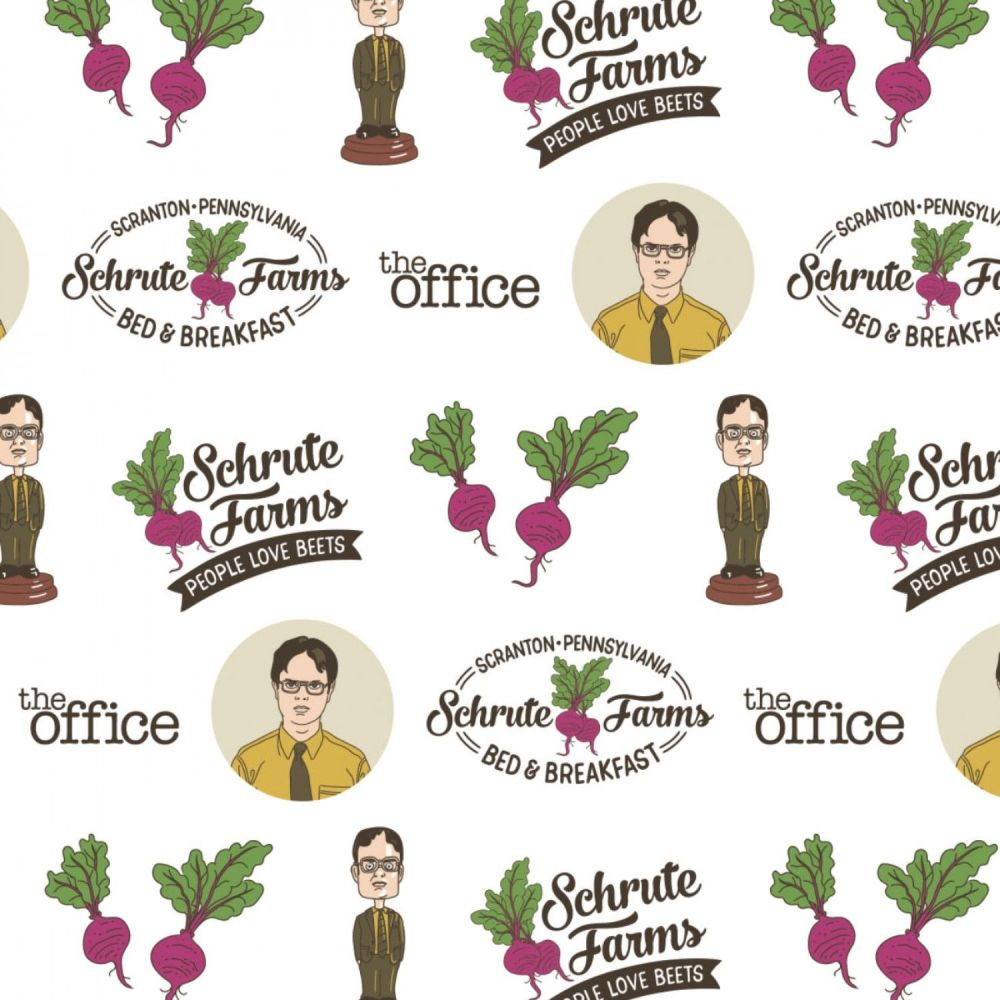 The Office An American Workplace Dwight Schrute Beet Farm TV Show Classic T