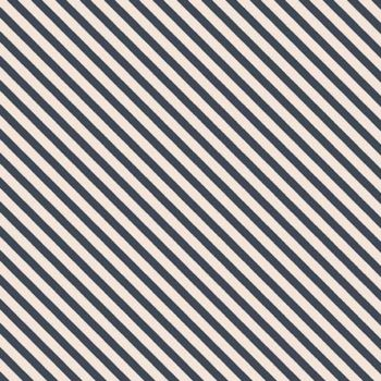 Idyllic Diagonal Bias Stripes Navy Pinstripe Quilt Binding Geometric Blender Cotton Fabric