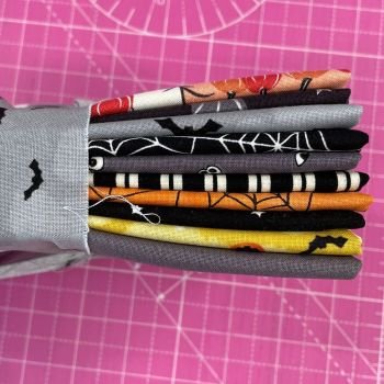 Spooky Hollow Hocus Pocus Halloween Curated 10 Fat Quarter Bundle Cotton Fabric Cloth Stack