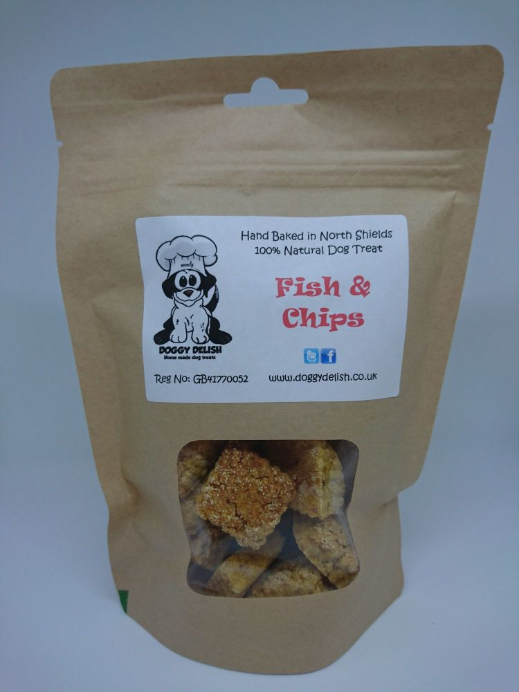 200g Treat Bag Fish & Chips