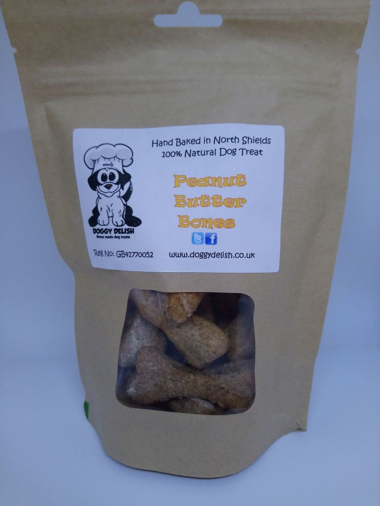 200g Treat Bag Peanut Butter