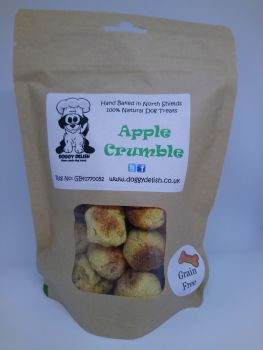 200g Treat Bag Grain Free Apple Crumble