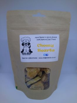 200g Treat Bag Cheesy Hearts