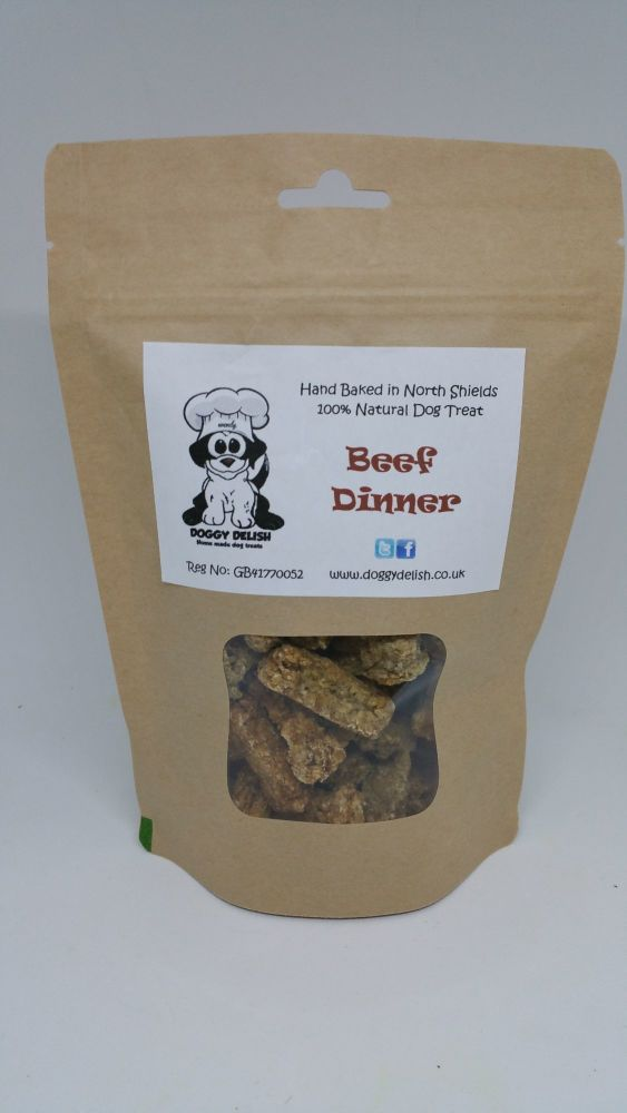 200g Treat Bag Beef Dinner