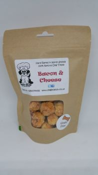 200g Treat Bag Grain Free Bacon & Cheese