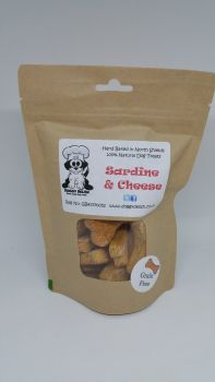 200g Treat Bag Grain Free Sardine & Cheese