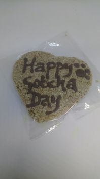Gotcha Day Heart Biscuit