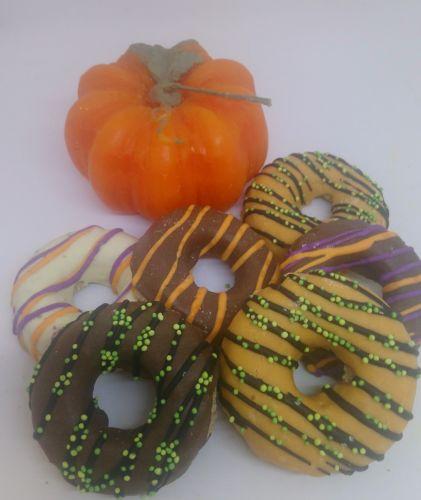 Halloween large donut