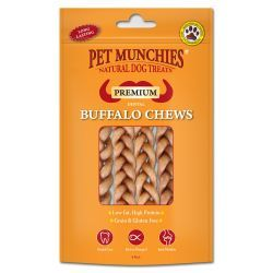 Product Details Pet Munchies Buffalo Dental Chew (small 4 pack)