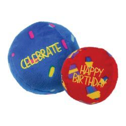 KONG Birthday Balls 2 pack