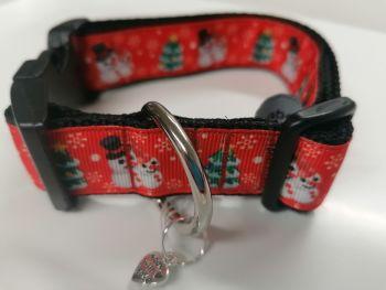 Snowman collar Medium