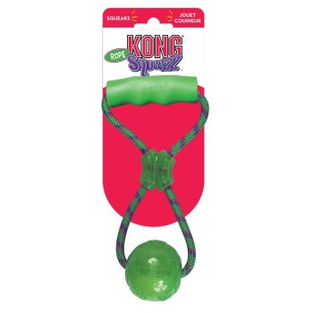KONG Squeezz Ball with Handle Medium 25cm