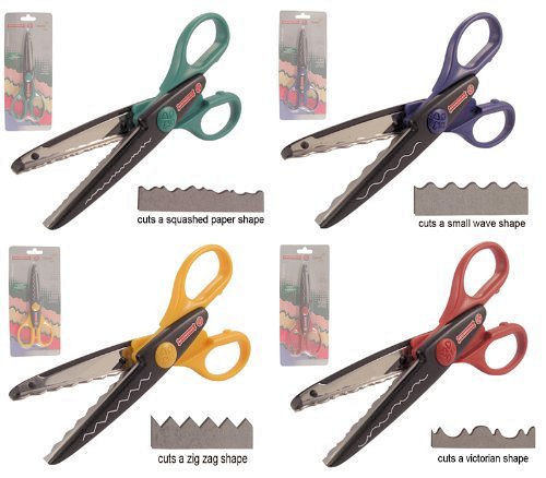 Pattern Cut Scissors