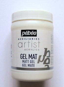 Pebeo Matt Gel  - 250 ml  jar