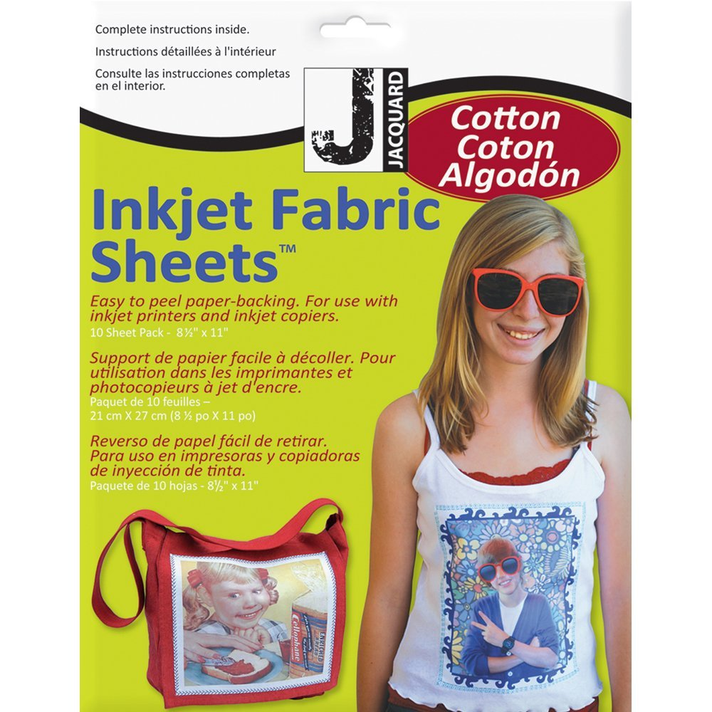 Photo transfer fabrics