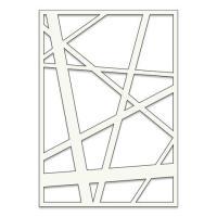 "Abstract A5 stencil (8"" x 6"")"