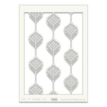 """Leaf Line A5 stencil (8"""" x 6"""")"""
