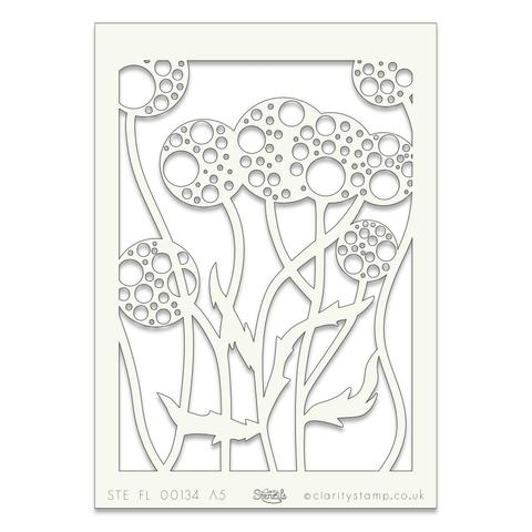 Plant 2 A5 stencil