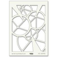 """Wheel A5 stencil (8"""" x 6"""")"""