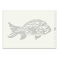 """Fish A5 stencil (8"""" x 6"""")"""