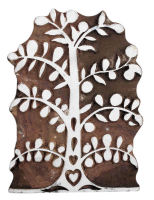 "Folk Art Tree 6.5"" x 4.25"" was £20 now £10"