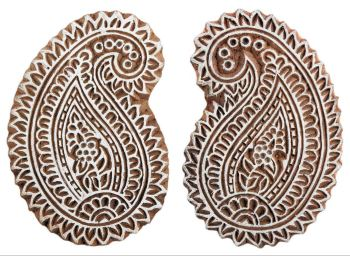 Paisley Leaf Pair was £12 now £6