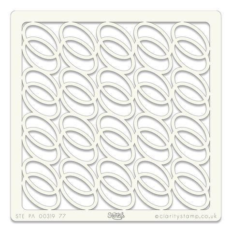 Rings stencil 7
