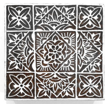 "Large Botanical Tile 5"" was £17.50 now £10"
