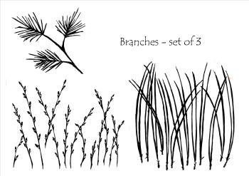 Branches - 3 part set