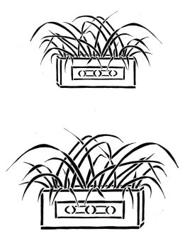 "GRasses Trough pair: 7"" & 5"""