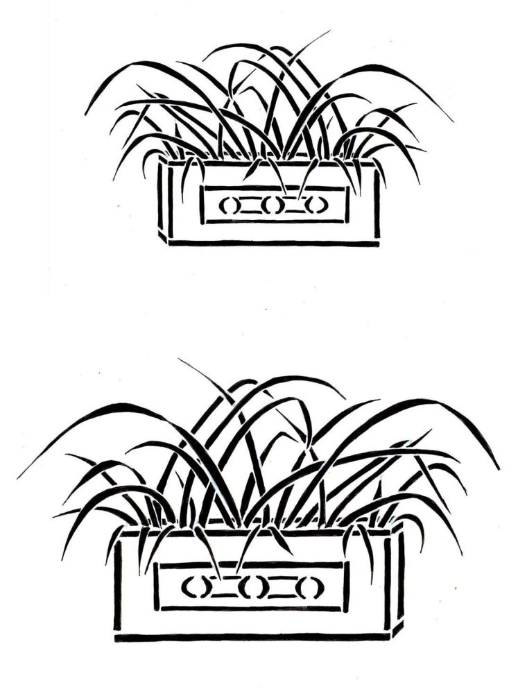 GRasses Trough pair: 7