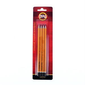 Koh-i-noor Graphite drawin pencils set of 4