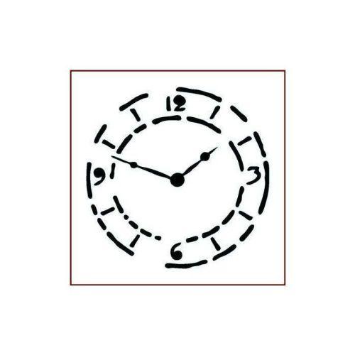 grungy clock