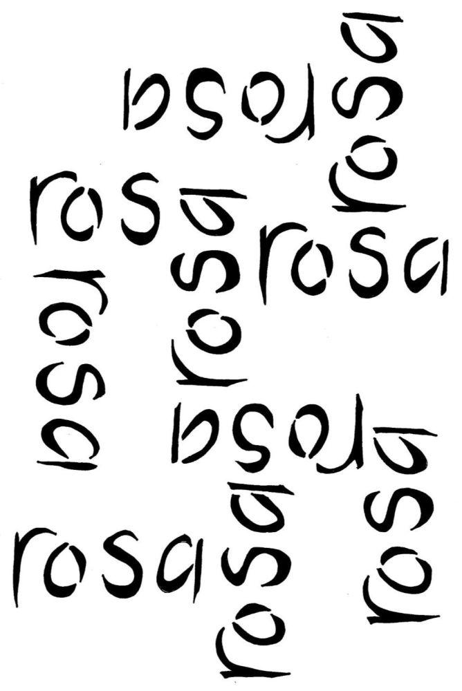 Rosa Script A4